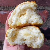 Fabulous and Fluffy Apple Cheddar Drop Biscuits