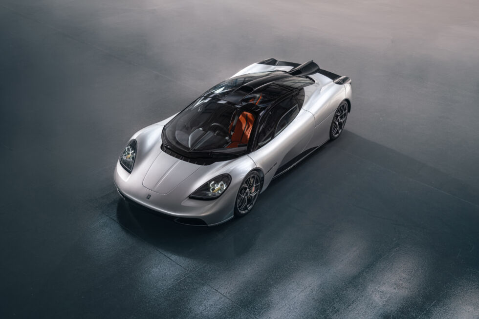 Three seats, a V12, and a manual transmission: The GMA T.50 reveal