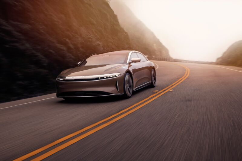 Now there's a cheaper, single-motor version of the Lucid Air EV