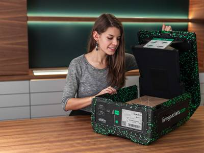 THE BOX could eliminate cardboard and plastic packaging waste