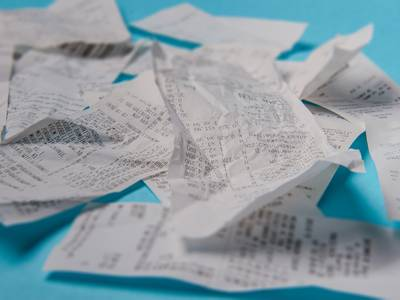 Why do we still have paper receipts?