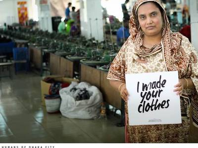 Garment workers suffer as fashion brands cancel orders