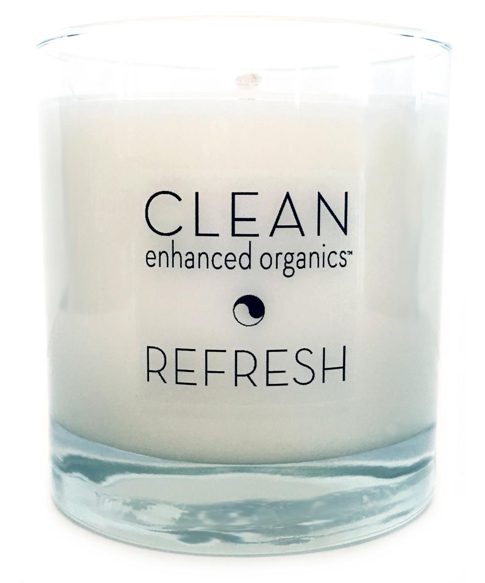 Refresh Nurturing Aroma Candle - Clean Enhanced Organics