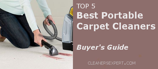 Best Portable Carpet Cleaners 2017 – Buyer's Guide