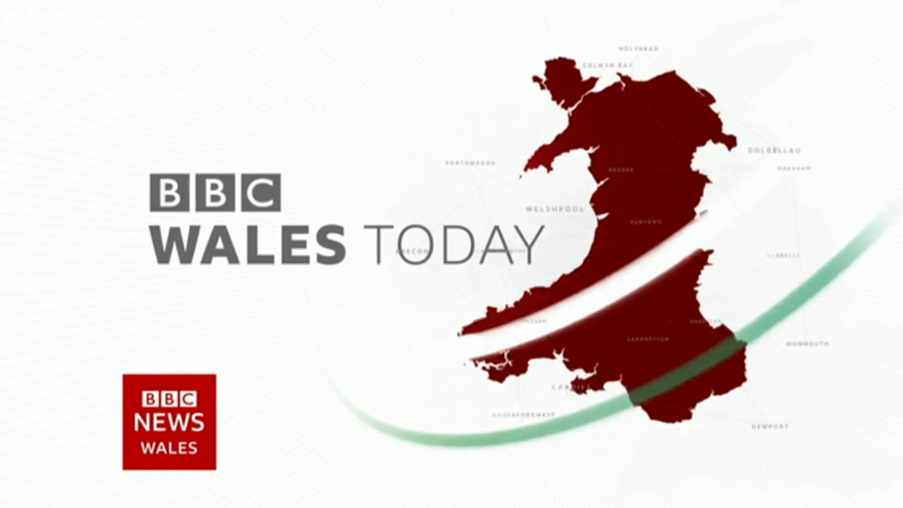 PICTURED: BBC Wales Today opening titles.