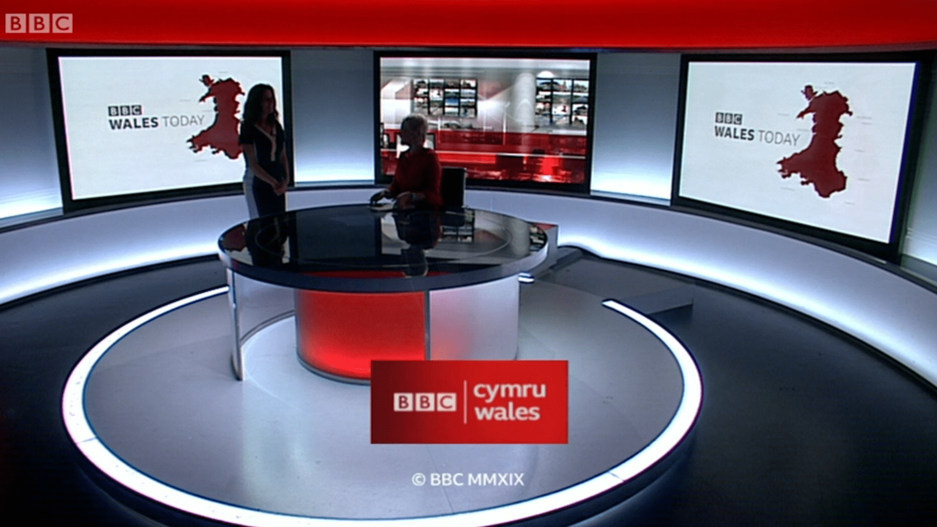 PICTURED: BBC Wales Today programme endboard.