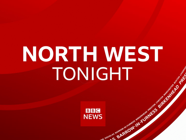 PICTURED: a still from the BBC North West Tonight opening titles.