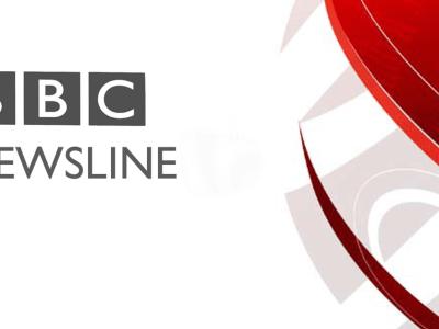 PICTURED: BBC Newsline online logo.