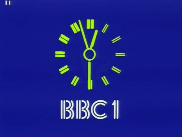 PICTURED: BBC One clock.