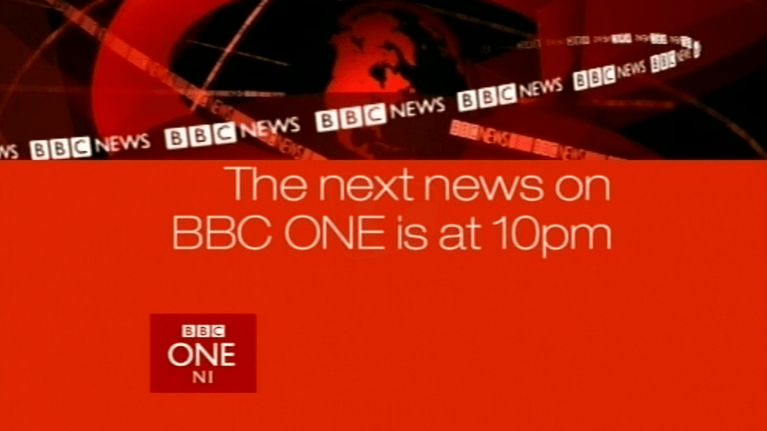 PICTURED: BBC One Northern Ireland information slide.
