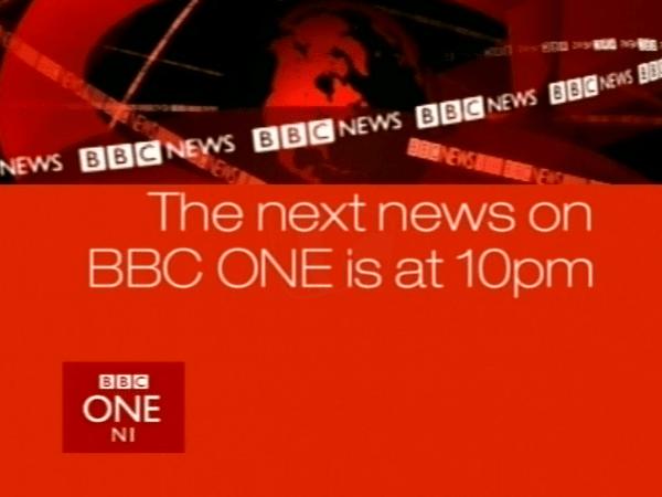 PICTURED: BBC One Northern Ireland information slide.