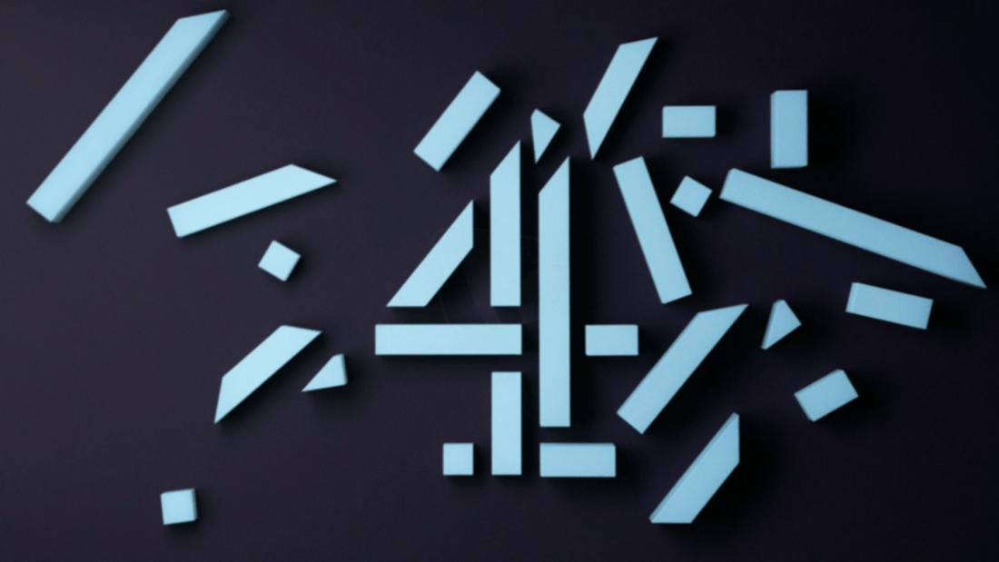 PICTURED: Channel 4 break bumper.
