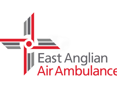 PICTURED: East Anglian Air Ambulance logo.