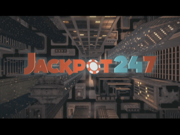 PICTURED: still from Jackput 247 title sequence.