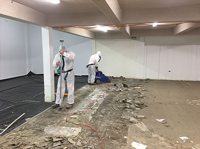 cleanfield case study on asbestos tile