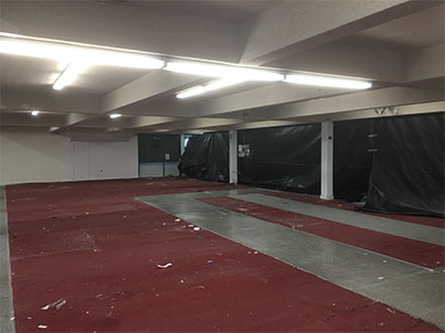 case study asbestos floor tile removal