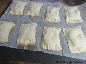 Crimped Apple Turnovers with airholes