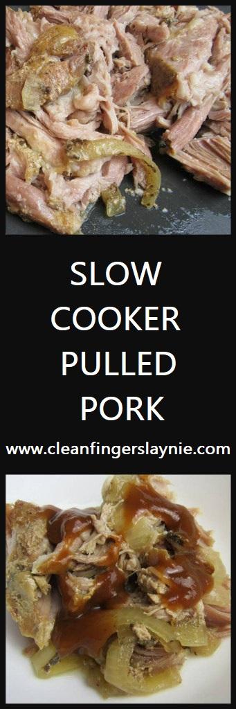 Slow Cooker Pulled Pork - CleanFingersLaynie