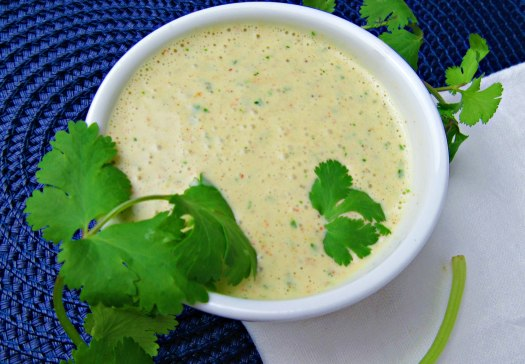 Mexican Ranch Dressing - Top View
