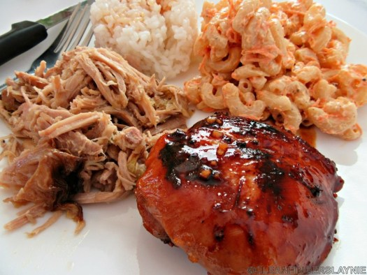 Hawaiian Teriyaki Chicken Thighs Close Up