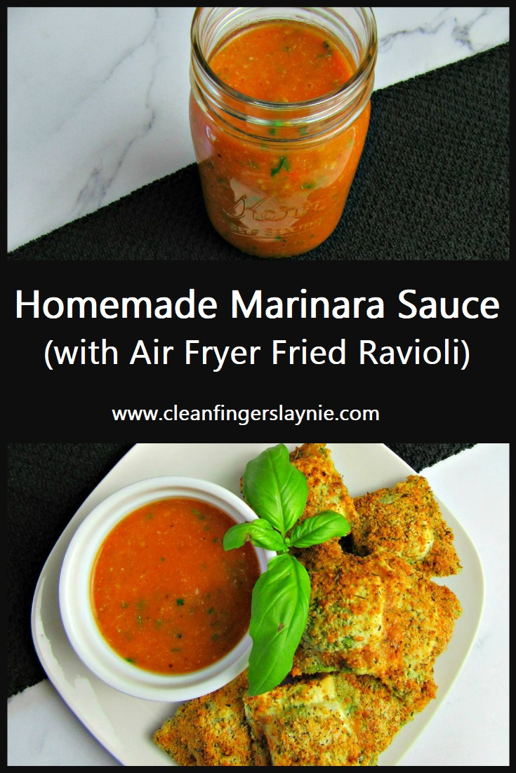 Homemade Marinara Sauce - Clean Fingers Laynie