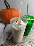 Healthy Pumpkin Spice Frappe - Vertical