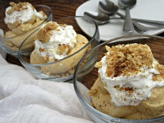 Pumpkin Cheesecake Mousse Multiple Servings