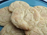 Soft and Chewy Snickerdoodle Cookie Close Up