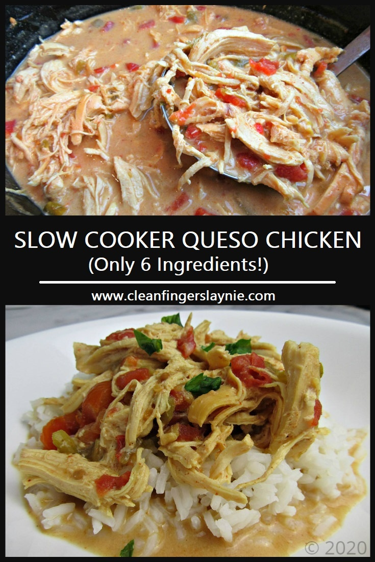 CFL - Slow Cooker Queso Chicken