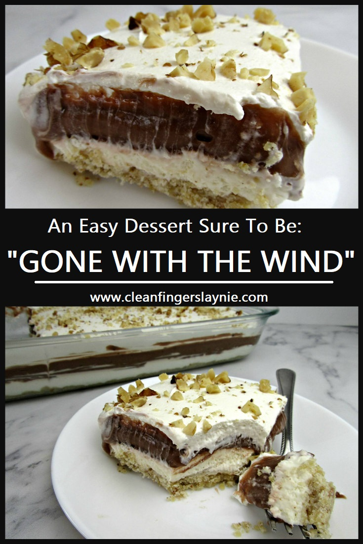 Gone with the Wind Dessert -- Clean Fingers Laynie