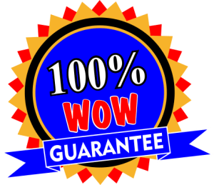 100% Wow Guarantee