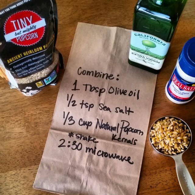 make it yourself popcorn bags diy microwave popcorn w light sea salt