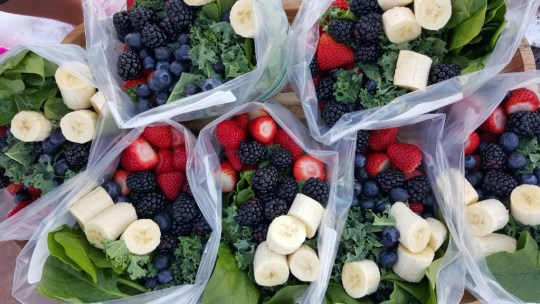 Pre-Prepped Green Smoothie Baggies  https://cleanfoodcrush.com/green-smoothie-packs/