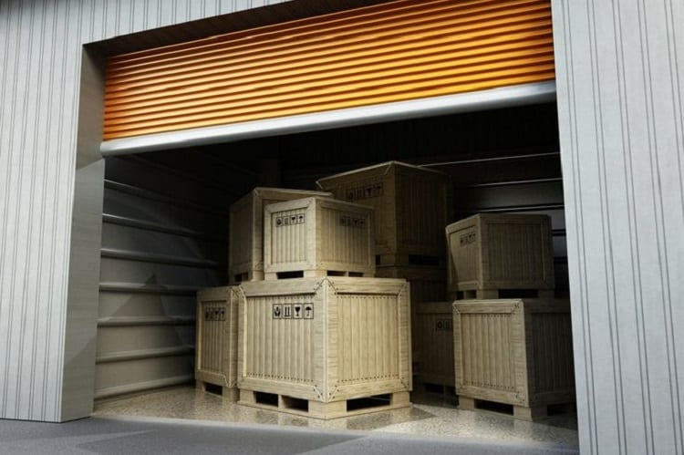 Get some of your things into storage
