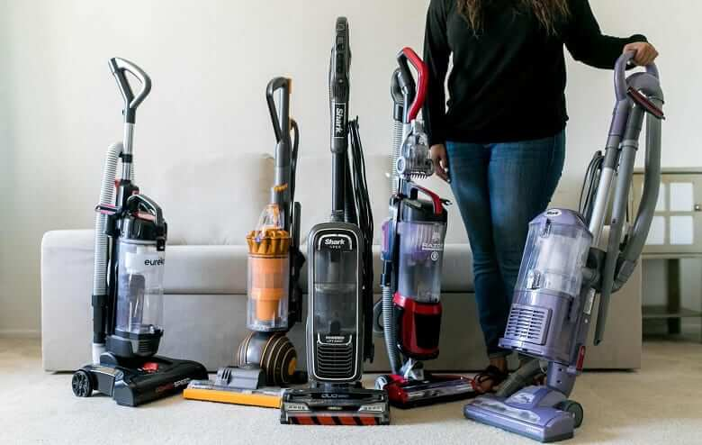 What is an upright vacuum?
