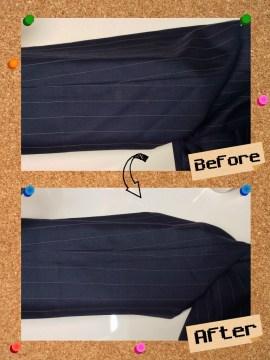 メンズ パンツ ズボン 魚卵 いくら のしみ by 下町、東京都江東区亀戸の会員制クリーニングベレーナ