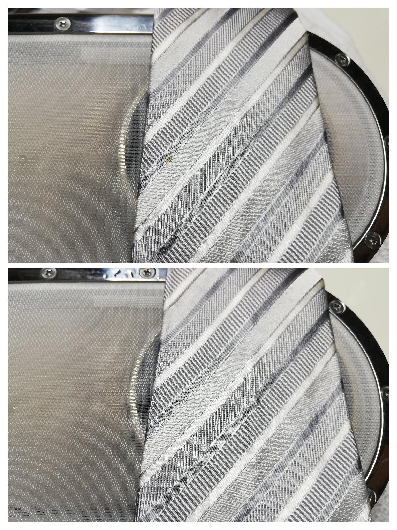 ネクタイ 食べこぼし の しみ by 下町、東京都江東区亀戸の会員制クリーニングベレーナ