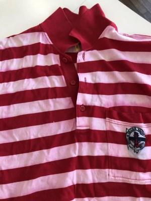 イタリア製ポロシャツ色落ち
