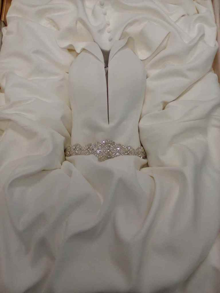 Fairytale wedding dress boxed