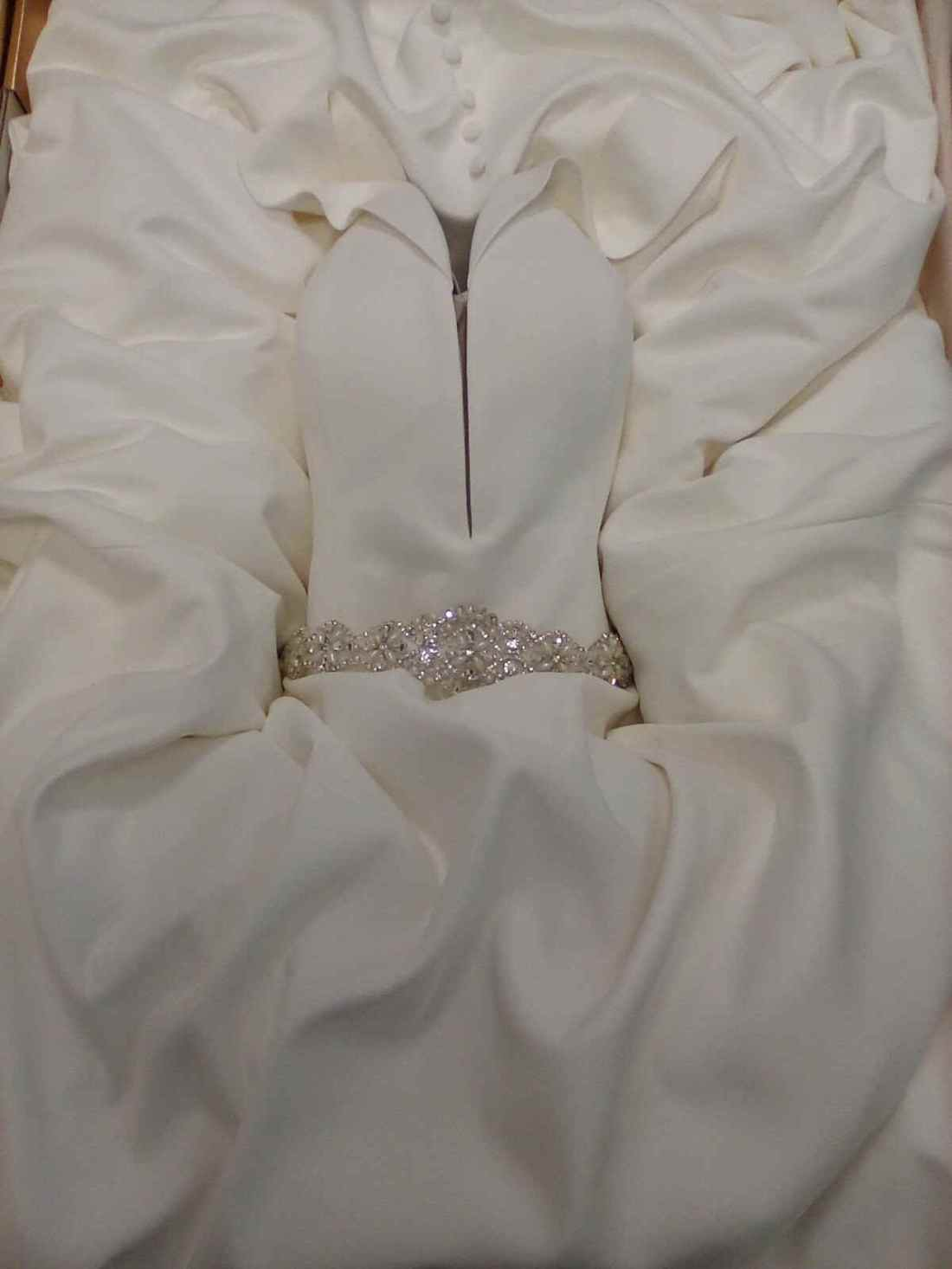 Wedding Dress Boxed E