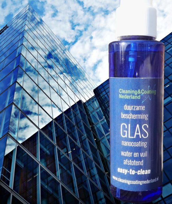 nanocoating glas voor ramen van de wolkenkrabber