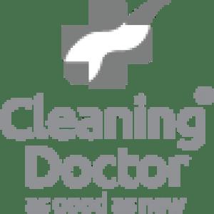cleaning doctor stacked logo grey website preloader