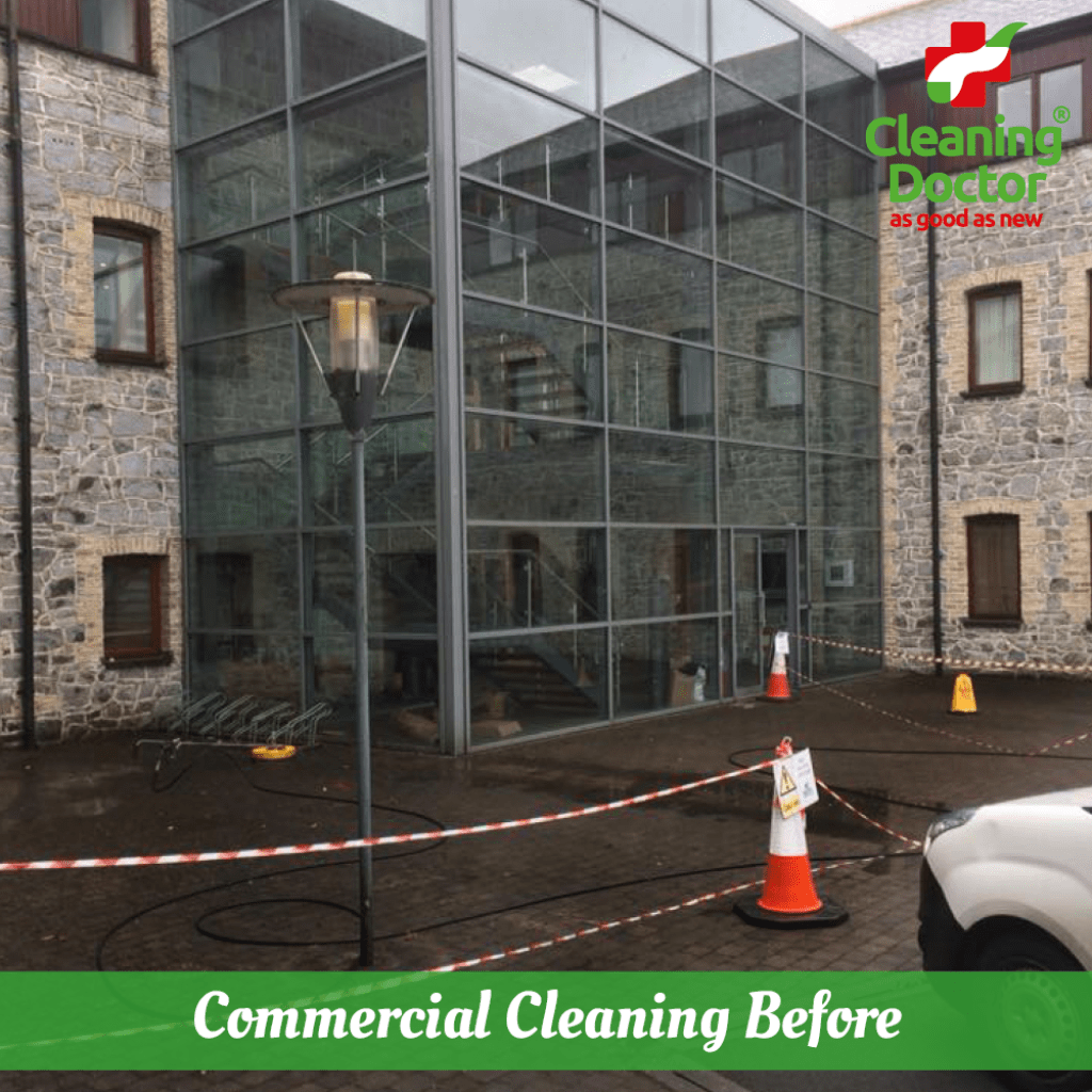 cleaning doctor commercial outdoor cleaning service