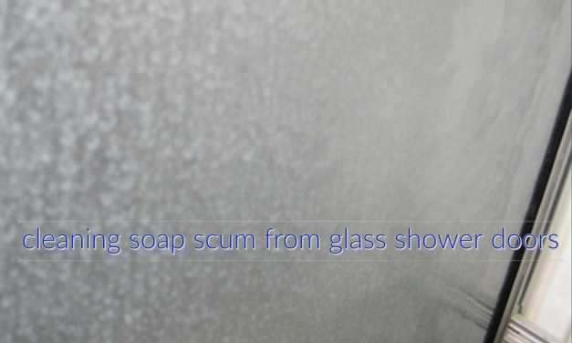 30 Days of the Norwex Enviro Cloth – DAY 29 – REMOVING SOAP SCUM