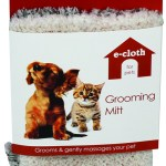 ecloth for pets pet groooming and brushing mitt