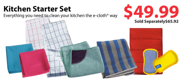 ecloth Kitchen Starter Set