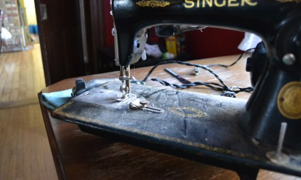 Right Foot, Wrong Foot, Left Foot, Swear Foot – Sewing Machine Woes
