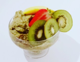 Green Mango Chia Mousse