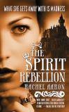 "<span class=""item""><span class=""fn title-book"">THE SPIRIT REBELLION</span><span class=""title-author""> by Rachel Aaron</span></span>"