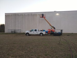 Exterior Commercial Pressure Washing by Clean Metro, Inc